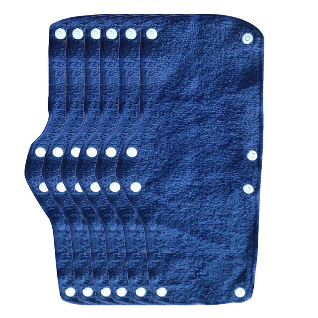 1pc Summer Selling Beat The Heat Blue Snap-on hard hat sweatband sweat belt for Safety helmet inner d90621 5