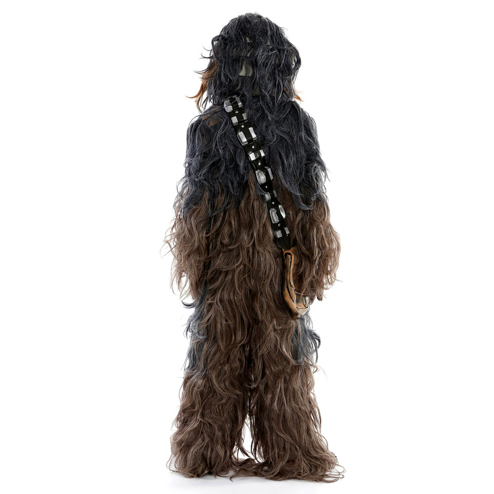 Star Wars Chewbacca Cosplay Costume Halloween Party Suit Costumes jumpsuit helmet gloves bag Shoe cover6