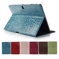 Luxury Crocodile Magnetic Stand Leather Cover Case For Samsung Galaxy Tab Pro 10 1 T520 T521