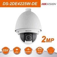HIK оригинальный DS 2DE4225W DE 25X 4,8 120 мм зум объектив POE ip камера видеонаблюдения видекам скорость купол