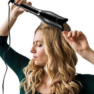 Image 1 - 2019 nuevo rizador de pelo automático profesional de hierro mágico eléctrico rodillo rizador de pelo herramientas de cerámica para estilizar el cabello