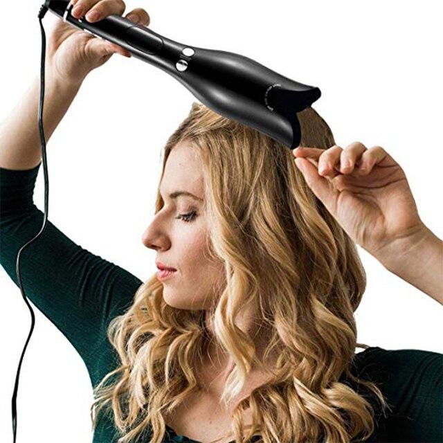 2019 nuevo rizador de pelo automático profesional de hierro mágico eléctrico rodillo rizador de pelo herramientas de cerámica para estilizar el cabello
