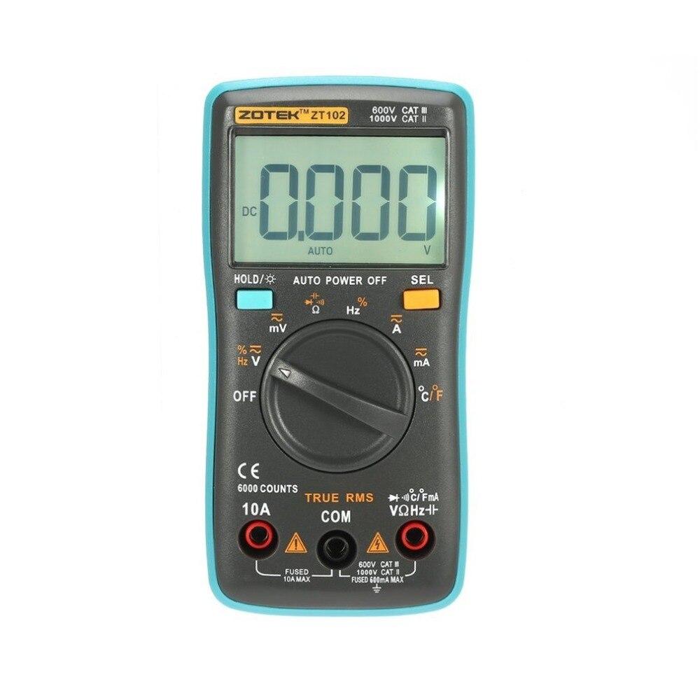 Multímetro Digital Multimetro Mastech esr Transistor Tester Digital RM uni multímetro Sanwa Metros Multimetre