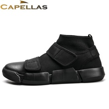 Фотография CAPELLAS New Fashion Leisure Men Shoes High Quality Men`s Casual Shoes Spring Autumn Breathable Shoes Men Zapatos Size 39-44
