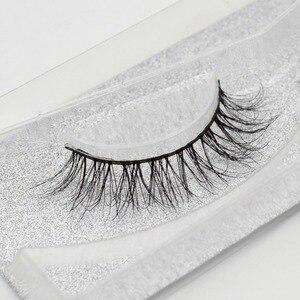 Image 4 - Visofreeขนตา 3D MinkขนตายาวขนตาMinkธรรมชาติDramatic Volume eyelashesขนตาปลอมA20