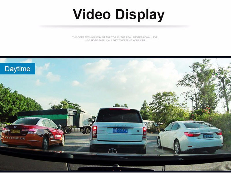 QUIDUX Dual lens G30 Car DVR Camera HD 1080P Video Recorder DVRs Night Vision Auto Dash cam Veicular Kamera two cameras Logger 11
