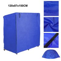 120x87x150cm Beach Chair Cover Protection Furniture Case Zipper Oxford 600D Polyester Weatherproof Protective Cover Tarpaulin