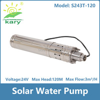 China Top selling 4inch deep well screw solar water pump,solar pump 120m,swimming pool water pump with low price