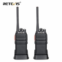 2pcs Retevis RT24 PMR Walkie Talkie License free 0.5W 16CH UHF 446 PMR446 Scrambler VOX Handheld Two Way Radio Hf Transceiver