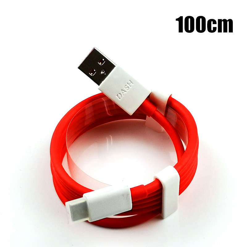 Image 5 - Original OnePlus 6 Dash Charger Cable 30cm/100cm/200cm red 4A Fast Charge Data Cable For One plus 6t 5t 5 3t 3 Mobile Phone-in Mobile Phone Cables from Cellphones & Telecommunications