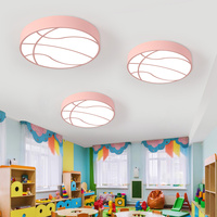 Led basketball kids room bedroom ceiling lights cartoon kindergarten playground baby room wear shop creative led lamp LU8111404