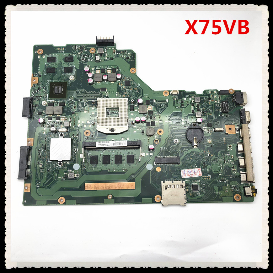 non-integrated 4G Memory PGA989 GT720M 2GB for laptop motherboard X75VB REV2.0 full test