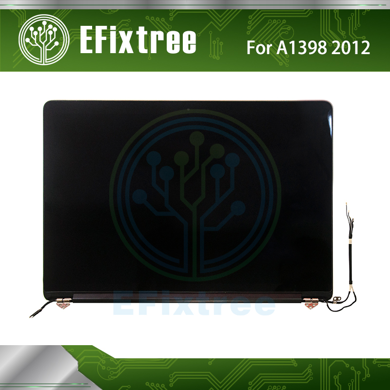 Efixtree Full Tested Geniune A1398 Screen Display LCD Assembly MD831 ME664/ME665 For Macbook Pro Retina 15 inch 2012 2013 image