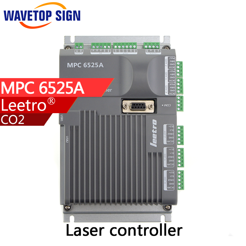Leetro MPC 6525A Co2 Laser Control Board Mainboard Laser Engraving and Cutting Controller leetro mpc6515 laser controller board for sale mpc6515c controller system