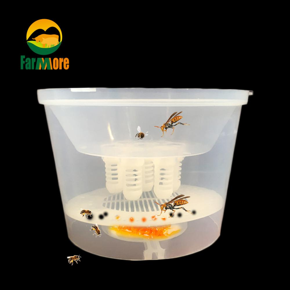 Bee Tools Hornet Trapper Fly Bug Catching Traps Wasp Catcher Hanging On Tree Insectary Box Bees And Beekeeping Equipment