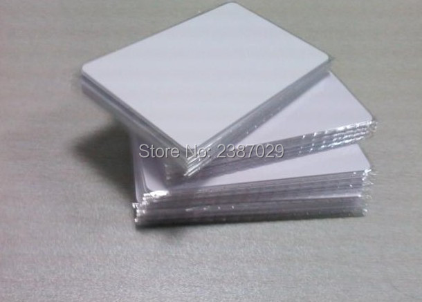 Glossy PVC Card 0.76mm 30 mil Inkjet Blank Plastic Card for Epson Printer 230pcs lot inkjet printable blank pvc card for epson printer canon printer credit card size
