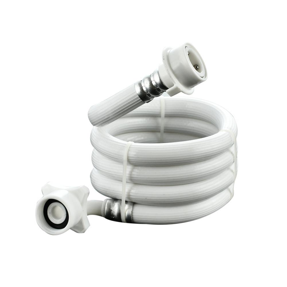 Adoolla 3M Universal Water Inlet Pipe for Automatic Washing Machine Anti-explosion Extension Tube Hose Coupler Accessories b1jx self washing machine pvc inlet pipe white silvery grey 2 8m