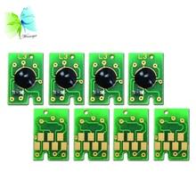 WINNERJET 3sets/lot Double MK C M Y Resettable Cartridge Chip For Epson 7450 9450 7400 9400 Printer