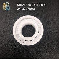 MR24377 MR2437 2RS 24377 MR2437LLB MR243707 Full ZrO2 Ceramic Bearing 24x37x7mm Bike Wheel Hub Bearing For