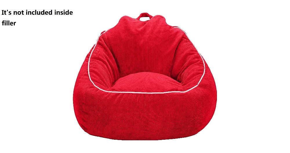 COVER Only Supply Bean Bag For Kids Lazy Boy Sofa Chair 18x32x32 Inches Not Included Filler In Living Room Sofas From Furniture On Aliexpress
