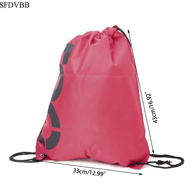 Waterproof drawstring sport bags 3