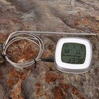 LCD Mutfak Geri Sayım Dijital Dokunmatik Ekran Backlight Ile Pratik Mutfak Zamanlayıcı Pişirme Araçları Dijital Zamanlayıcı Çalar Saat
