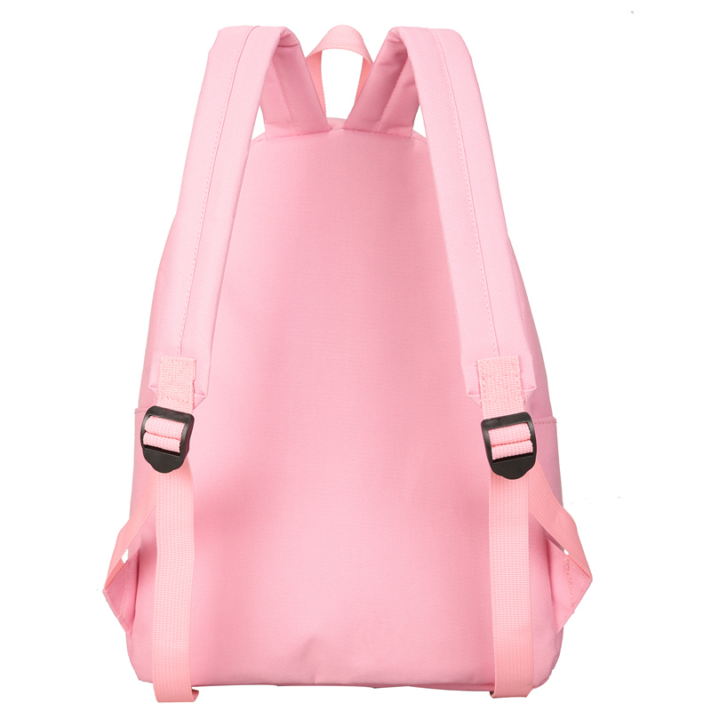 New Cactus Embroidery Simple Canvas Backpack Students School Women Girl Rucksack Mochila Escolar Women Backpack (8)