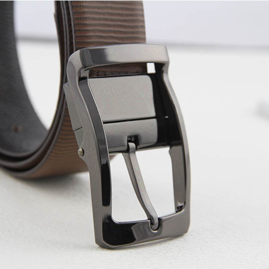 3 5cm belt buckle for Men 39 s Dress Belt Reversible 360 Rotated Clip double sided belt pin buckles DIY leather Jeans accessories in Buckles amp Hooks from Home amp Garden