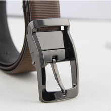 3.5cm belt buckle for Mens Dress Belt Reversible 360 Rotated Clip double-sided pin buckles DIY leather Jeans accessories