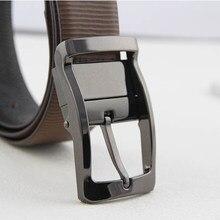 3.5 cm ceinture boucle pour Hommes Robe de Ceinture Réversible 360 Rotation  Clip double-face broches ceinture BRICOLAGE en cuir . a03f0447b2b
