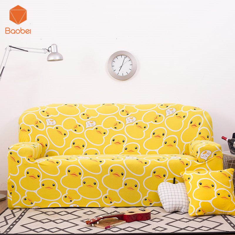 Yellow Color Duck Sofa Wrap All