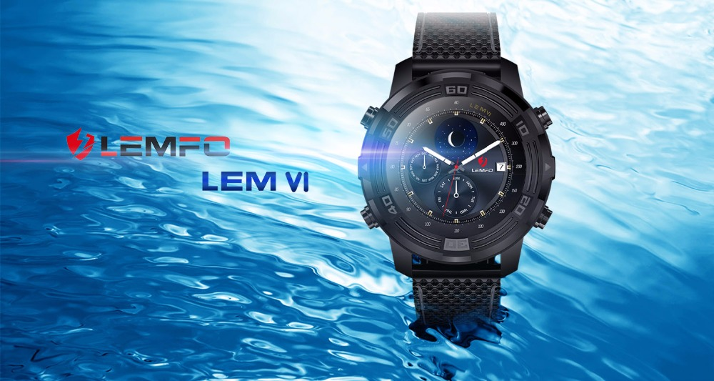 1 lemfo smart watch LEM6