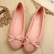 2016 new Fashion woman Ballet flats Fashion bow Breathable loafers flat shoes slip on women flats PU size 35-41