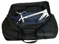 New ROSWHEEL 73cm Waterproof 700C Road & 26 MTB Bike Bicycle Cycling 2 Wheel bag and Transport 1 Carrier Carry Holder Bag