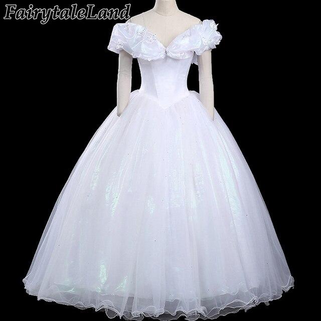 Princess Belle Cinderella Cosplay Costume Halloween Costumes For