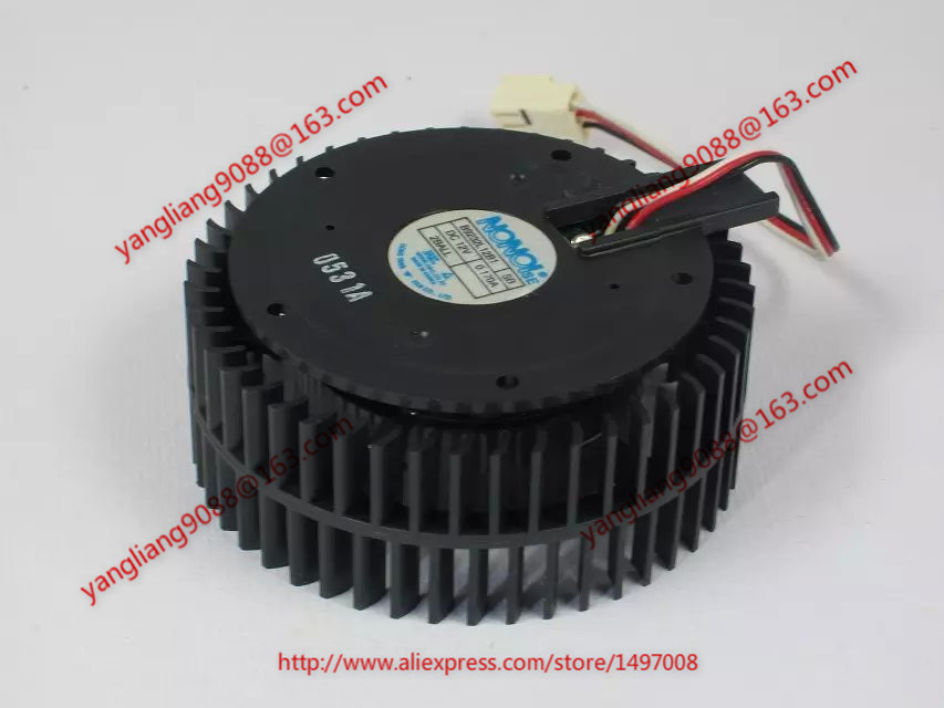Free Shipping For NONOISE B9232L12B1, SB  DC 12V 0.17A 3-wire 3-pin connector 80mm  68x68x29mm Server Cooling Round fan free shipping for delta afc0612db 9j10r dc 12v 0 45a 60x60x15mm 60mm 3 wire 3 pin connector server square fan