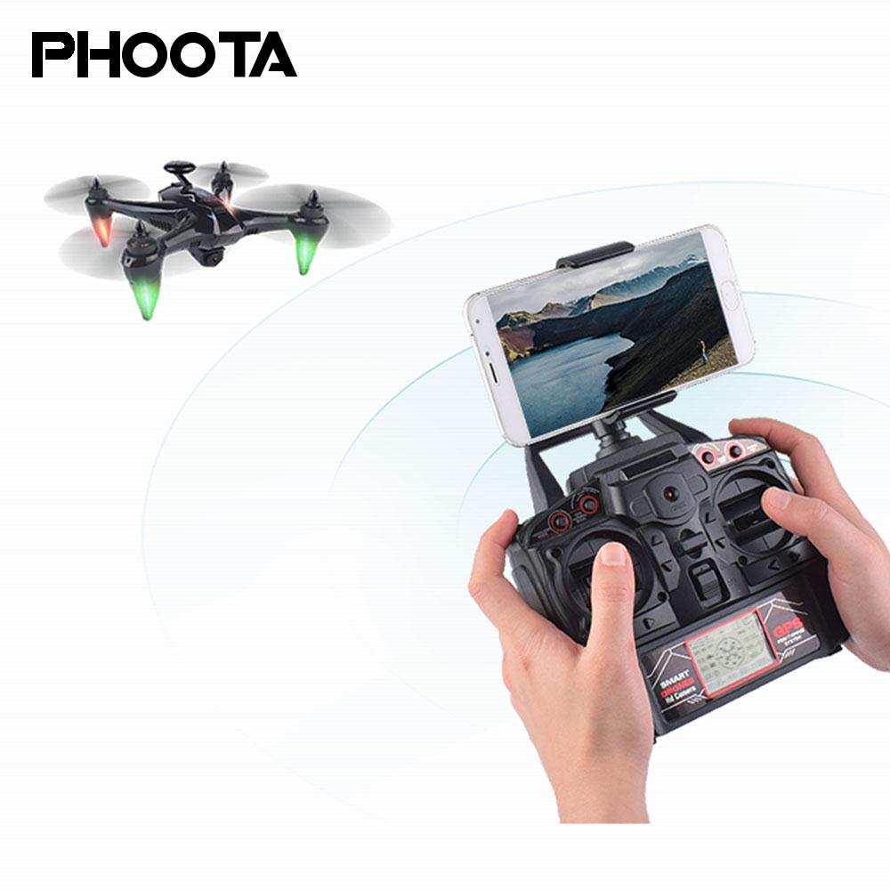 5G WiFi FPV HD 1080 P дистанционный Дрон GPS бесколлекторный Дрон HD 1080 P Пульт дистанционного управления бесщеточный мотор Hover HD 1080 P дистанционный Квадрокоптер
