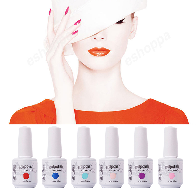 Arte Clavo Hot Sale Kleuren 15ml Arte Clavo Kies elke 1 kleur French Nails UV-lak Losweken UV Gel Nagellak