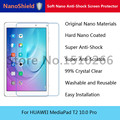 NanoShield Soft Nano Anti-Shock Screen Protector Protective Film For HUAWEI MediaPad T2 10.0 Pro With Retail Packaging