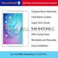 Nanoshield suave nano protector de pantalla antichoque película protectora para huawei mediapad t2 10.0 pro con el empaquetado al por menor