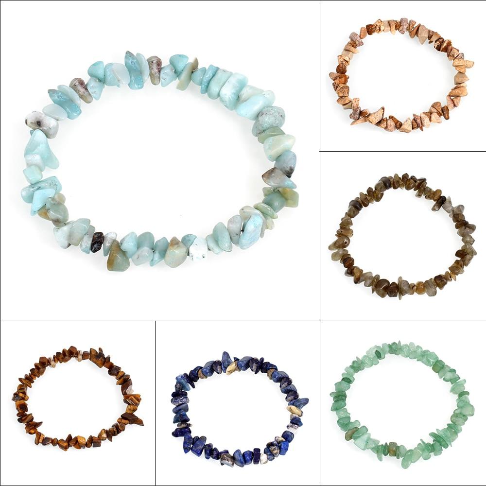 bracelet pierre naturelle edelsteen colorful gem stone bracelets nuggets bracelets bangles charm. Black Bedroom Furniture Sets. Home Design Ideas