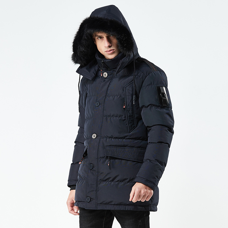 2018 New Brand Men Winter Thermal Parka Military Tactical Warm Down Cotton Padded Hooded Jacket Waterproof Top Jacket Outwear