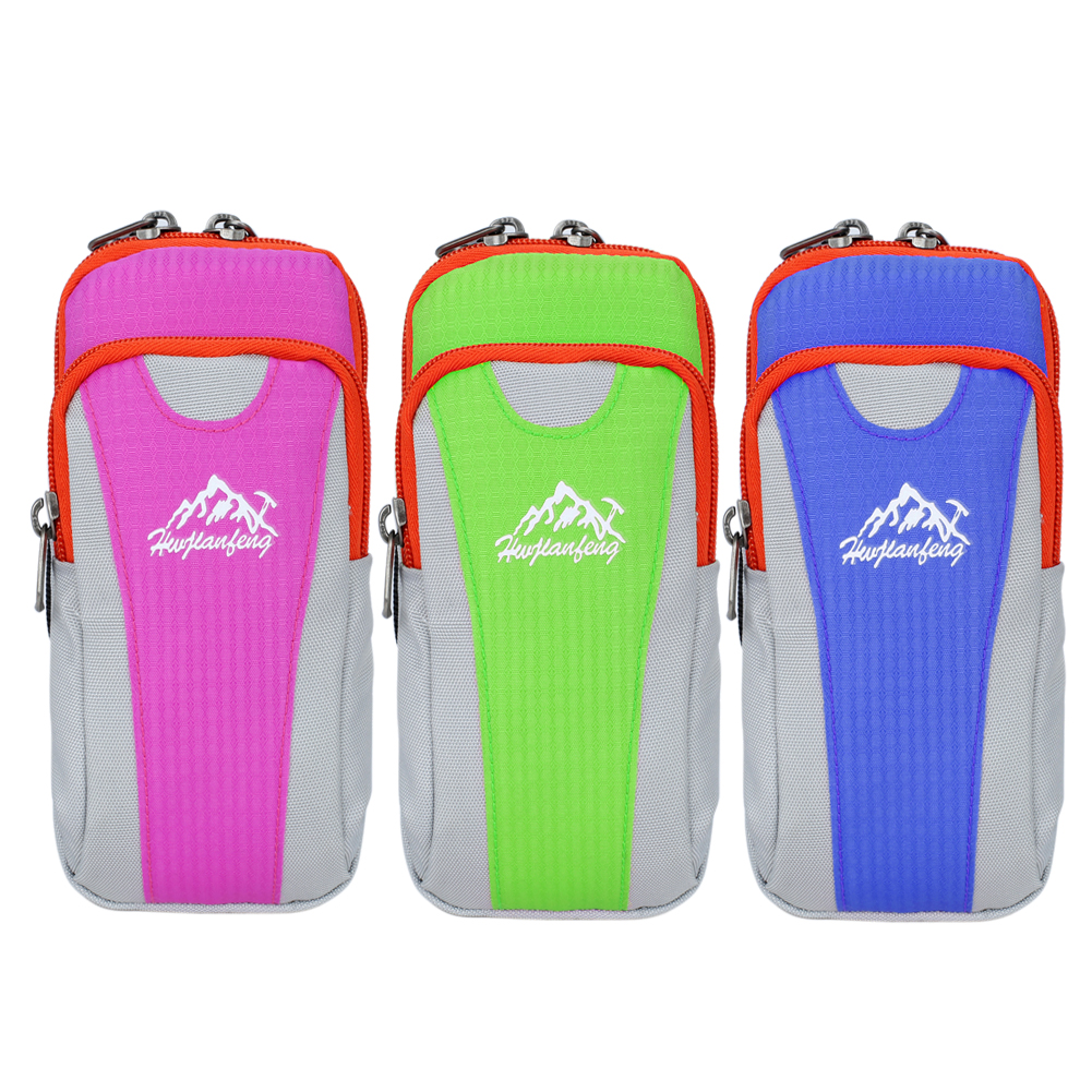 f48e34f923 This bag is intended for outdoor activity lovers in  running,jogging,climbing,hiking,biking,etc. Double Slot can put cards,  wallet, money and so on