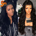 Wet Wavy Brazilian Full Lace Human Hair Wigs For Black Women Virgin Hair Full Lace Frontal Wig Body Wave Glueless Lace Front Wig