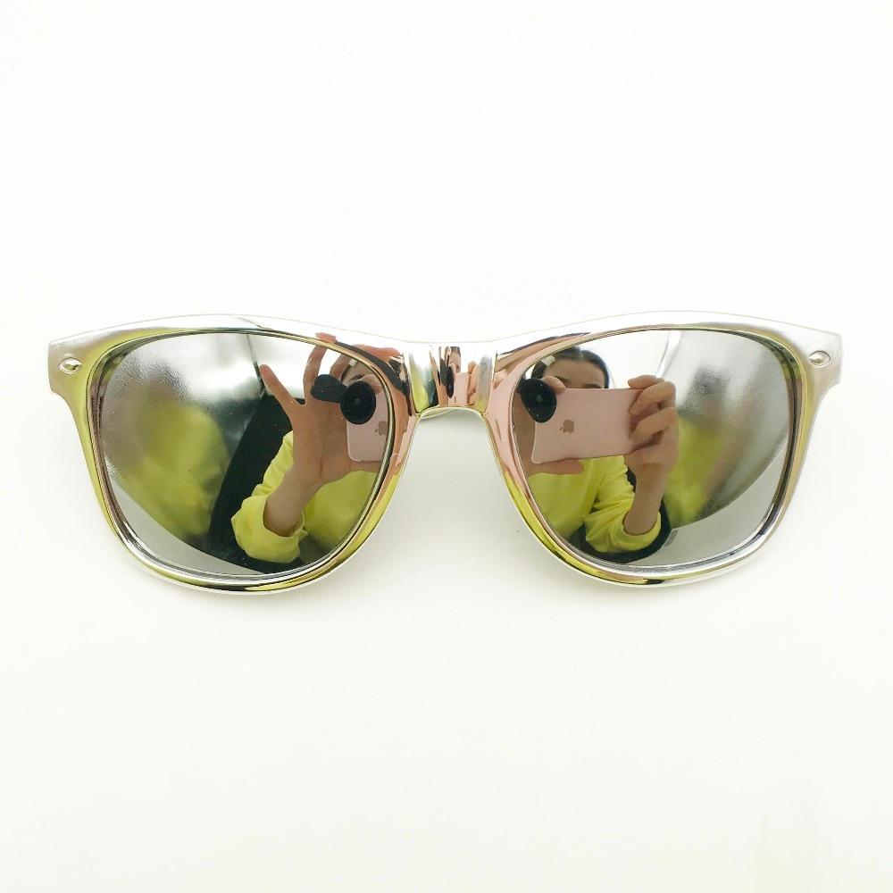 De plata a granel gafas de sol con lentes de espejo personalizado, regalos de boda para los huéspedes playa fiesta gafas de sol personalizado cumpleaños favores-in Obsequios para fiestas from Hogar y Mascotas    3