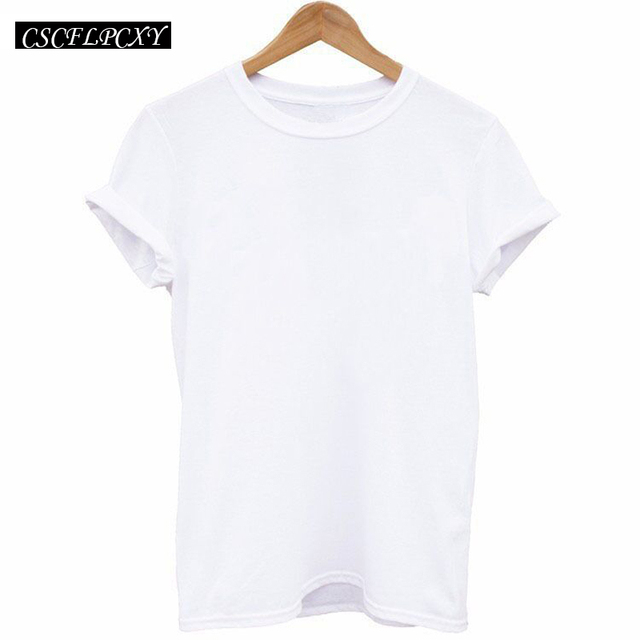 Fashion Russian Letter Print Women T-shirts tops White Black Short Sleeve Harajuku Casual Slim tshirt tees FOR Lady 4