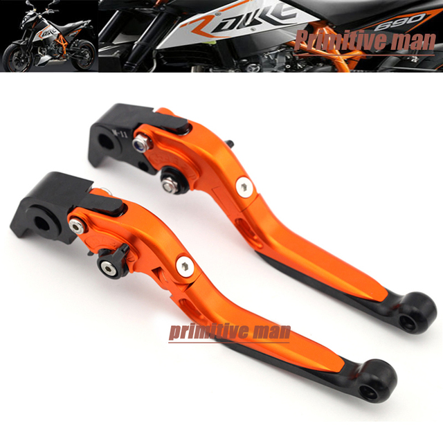 For KTM 1290 Super DUKE 14-15, RC8/R 1190 08-14 Motorcycle Accessories CNC Adjustable Folding Extendable Brake Clutch Levers #B