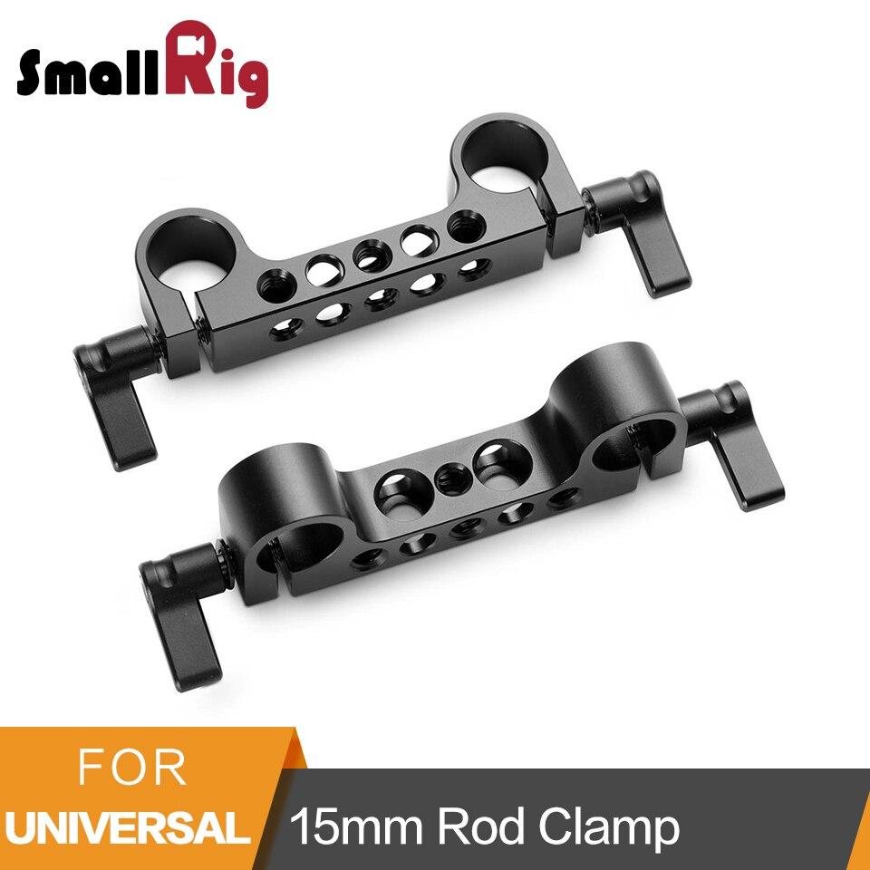 SmallRig Peso Leve 15 milímetros Railblock Rod Braçadeira com 1/4