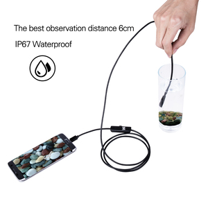 Image 4 - 3IN1 Type c 8.0mm Endoscope Camera 1080P HD USB Endoscope with 8 LED 1/2/5M Cable Waterproof Inspection Borescope for Android PC