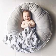 5 цветов хлопковый детский коврик для печенья круглая подушка